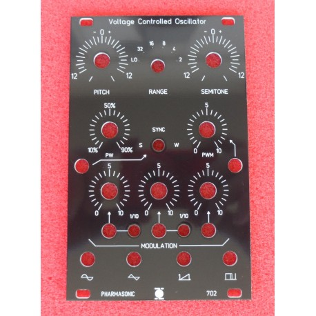 SYS-700 VCO 702 - front panel