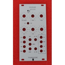 Digisound VCO/LFO Euro - front panel