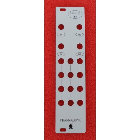 SYS-100 INV - front panel